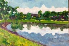 Kleimann-Lake-16x20-Oil-on-Canvas