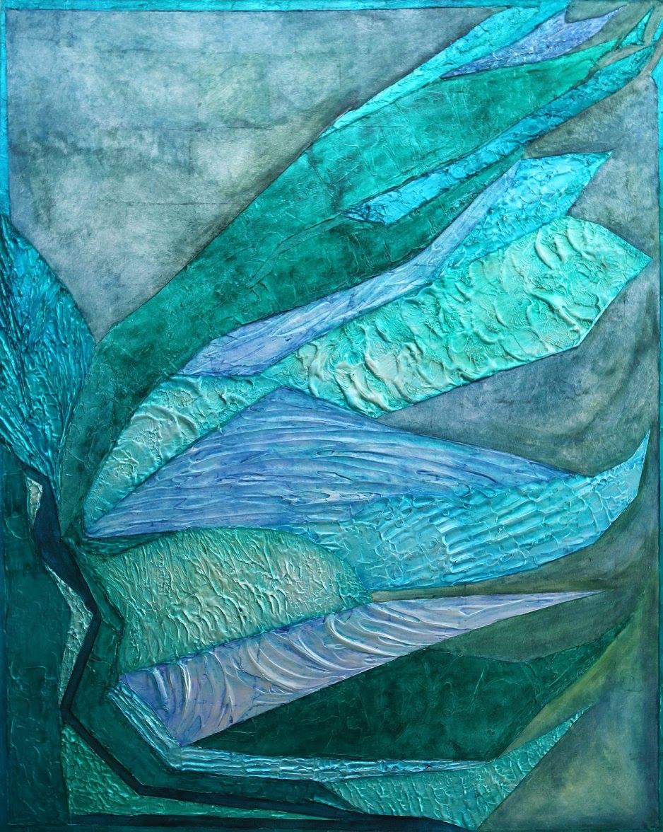 'Alaz Azul' by Jill Logan
