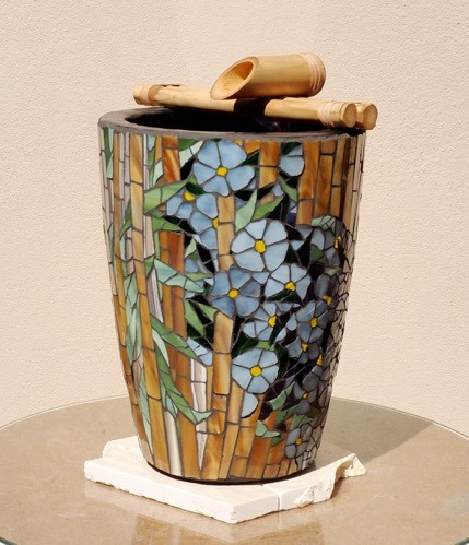 Mosaic Vase by Cate Thomassen