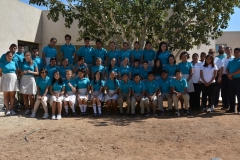 Palapa School Staff and Students
